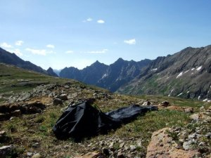 Alpine Hammock as a bivy